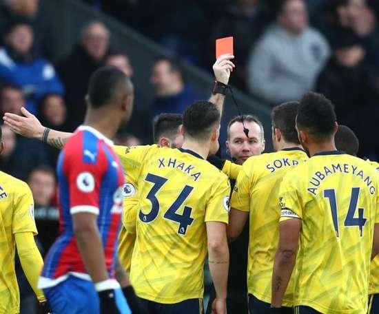 Arteta accepts Aubameyang's red card was fair. GOAL
