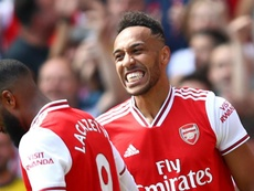 Arsenal attack excites Aubameyang