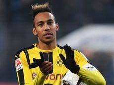 Pierre-Emerick Aubameyang following a match with Dortmund. Goal