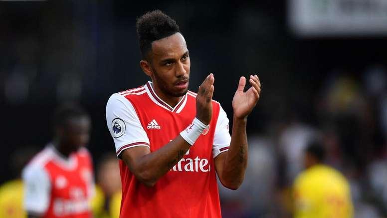 Aubameyang pense pouvoir jouer le top 4 avec Arsenal. Goal