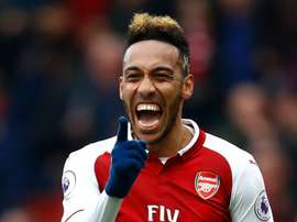 Aubameyang shone in what was a huge victory. GOAL