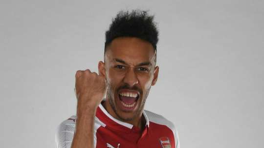 Aubameyang completed his long-awaited move to Arsenal. GOAL