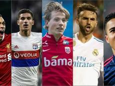 Algumas das maiores promessas do futebol. Goal