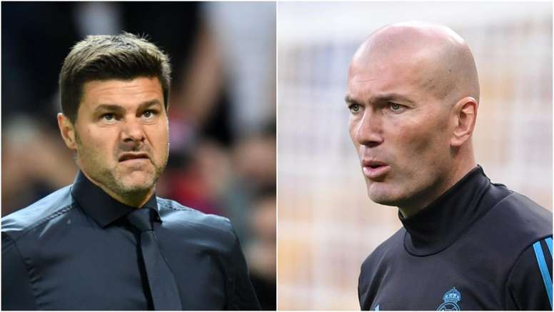 Pochettino, Zidane.