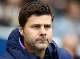 Pochettino in defiant mood. GOAL