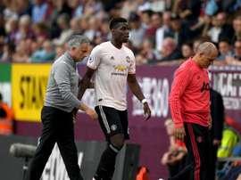 Pogba discusses Mourinho sacking