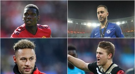 Hazard, De Ligt, Pogba, Mbappe, Neymar: the close-season's top transfer rumours. GOAL