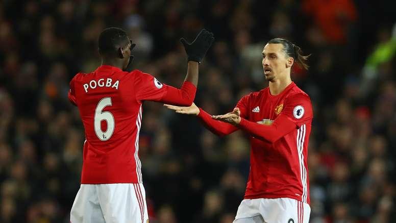 Pogba and Ibrahimovic are enjoying a good relationship. Goal