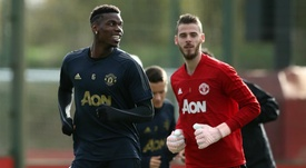 Pogba and De Gea will miss the Partizan match because of injury. GOAL