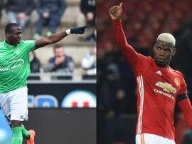 Florentin Pogba beats brother Paul. Goal