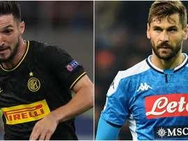 Politano al Napoli e Llorente all'Inter. Goal