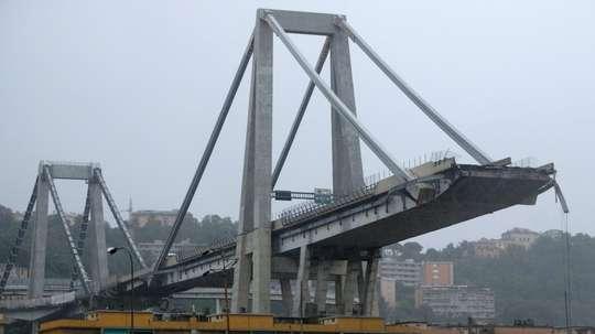 Ponte Morandi bridge, Genoa.