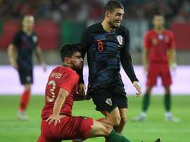portugal croatia - mateo kovacic ruben neves - friendly. Goal