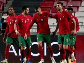 Portugal triumphed. GOAL