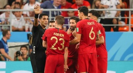 VAR awarded both Portugal and Iran a penalty on Monday. GOAL