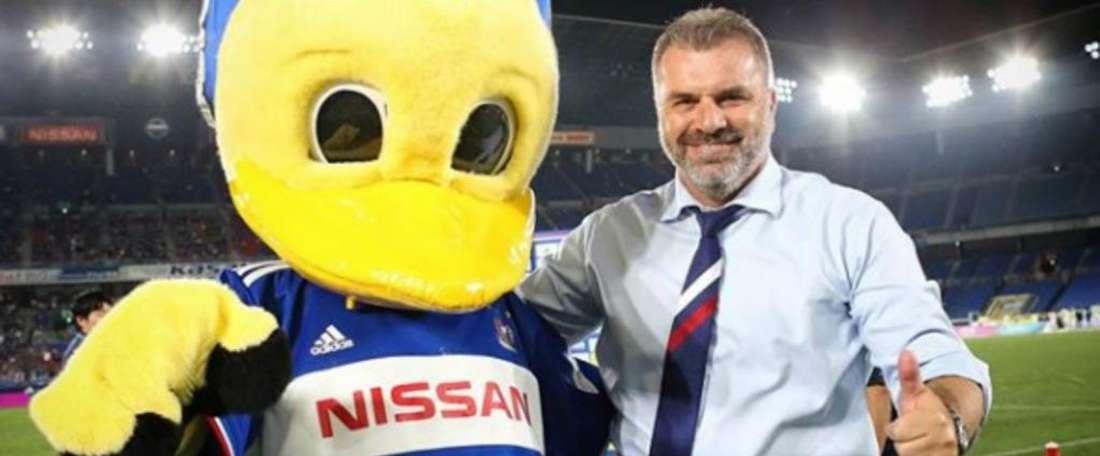 Coach Postecoglou led Yokohama F Marinos to the J-League title. GOAL