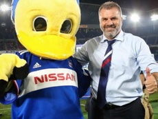 Coach Postecoglou led Yokohama F Marinos to the J-League title. GOAL
