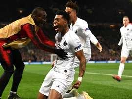 PSG : contre Manchester United, Kimpembe a inscrit son premier but en pro