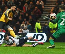 Preston Arsenal FA Cup Olivier Giroud
