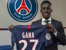 Idrissa Gueye a fait son premier entraînement avec le PSG. GOAL