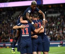 Le PSG, même sans Neymar et Mbappé, triomphe. AFP