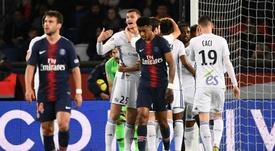 Paris a été surpris par Strasbourg. Goal