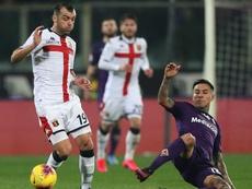 Termina in pareggio tra Fiorentina e Genoa. Goal