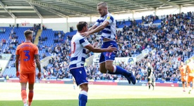 Puscas was the man of the match for Reading against Cardiff. GOAL