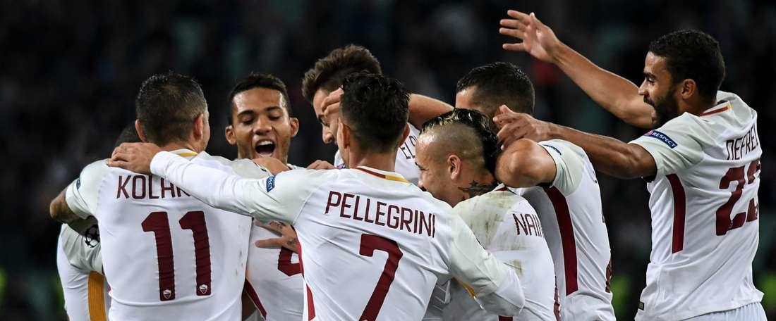 Court succès de la Roma. Goal