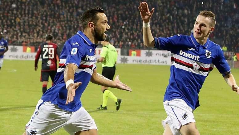 Sampdoria, Cagliari-Genova-Cagliari in due giorni: giovedì si gioca la Coppa Italia. Goal
