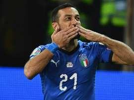 Quagliarella scored against Liechtenstein. GOAL