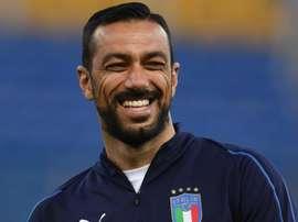 Fabio Quagliarella became the oldest Italian to have an international goal. GOAL