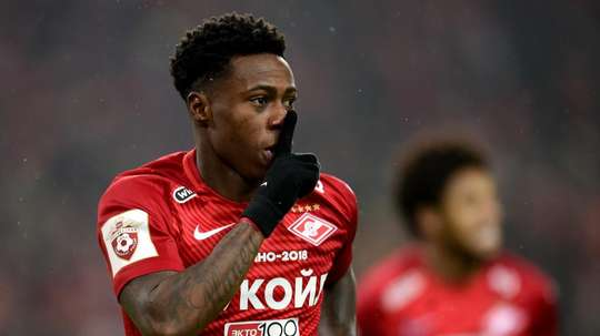 Quincy Promes is a Dutch international. GOAL