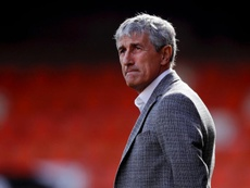 Setien working on communicating ideas to Barca after first defeat. GOAL