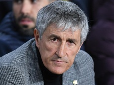Setien 'optimistic' for Napoli second leg despite loss of Busquets and Vidal