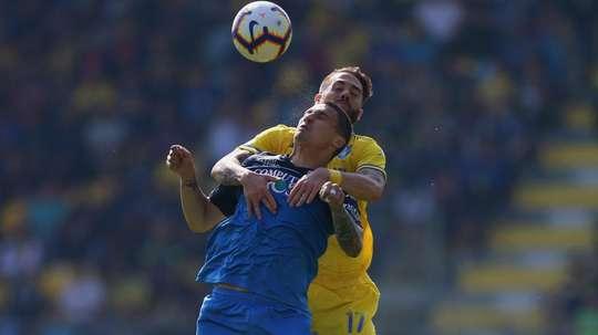 Rade Krunic Francesco Zampano Frosinone Empoli Serie A. GOAL