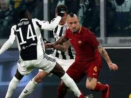 Radja Nainggolan, Juventus-Roma, Serie A. GOAL