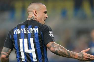 Nainggolan is looking forward to his first Milan derby. GOAL