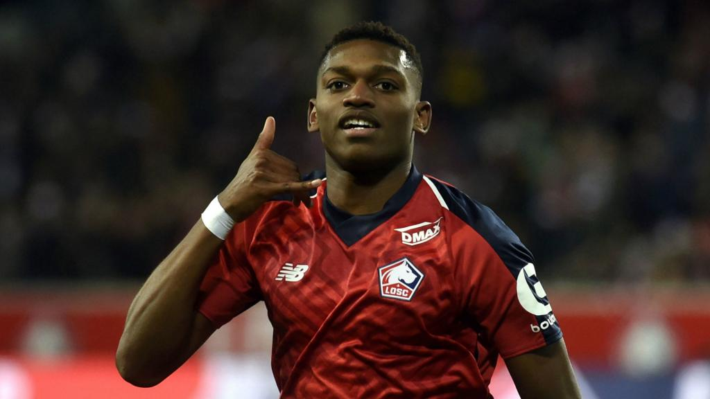 AC Milan signs forward Rafael Leão from Lille | AP sports