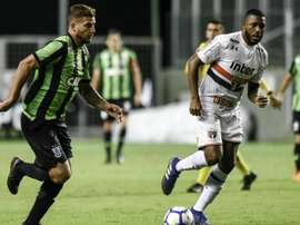 América-MG 1 x 3 São Paulo: Nenê marca duas vezes e conduz Tricolor à vitória no Independência