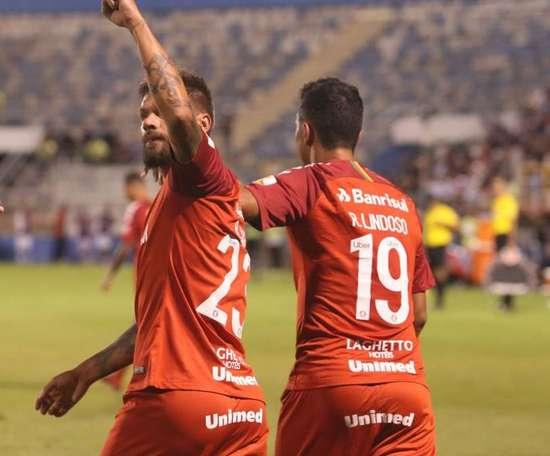 Sóbis marcou o golo da vitória do Internacional. Goal