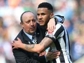 Lascelles is the captain at Newcastle. GOAL