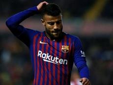 O Barcelona pensa no que fazer com Rafinha. Goal