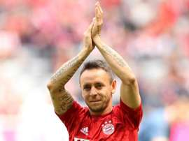 Rafinha, mais 'banco' ou titular no Bayern Conferimos os números