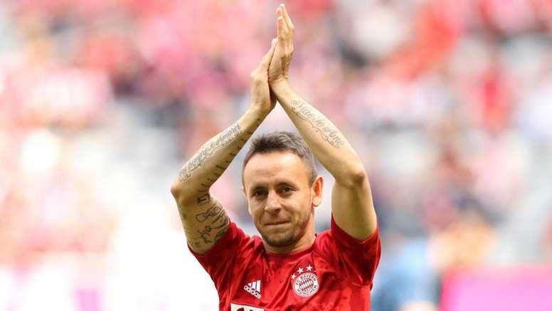 Rafinha diz que está a disposição do Bayern. Goal