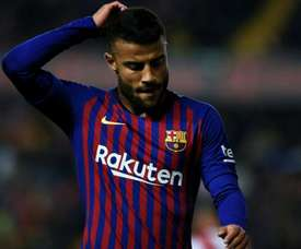 Rafinha is looking for a way out at Barcelona. GOAL