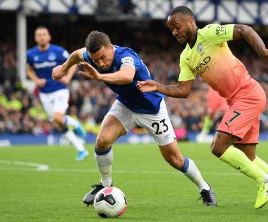 City s'en est sorti face à Everton. Goal