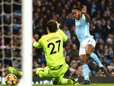 Sterling has been a headache for Bournemouth in recent encounters. GOAL