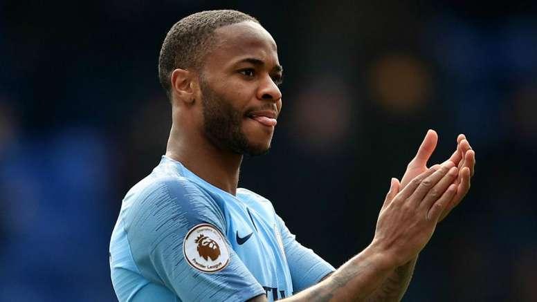 Raheem Sterling scored twice for City. GOAL