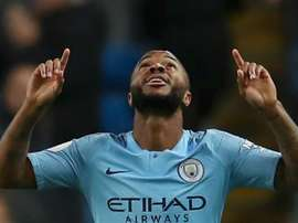Sterling was given the task of filling in for the missing Aguero. GOAL